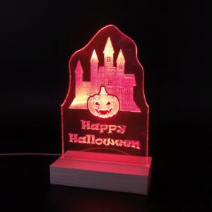 Halloween bei GBM-Factory - Deko Leuchtschild 1
