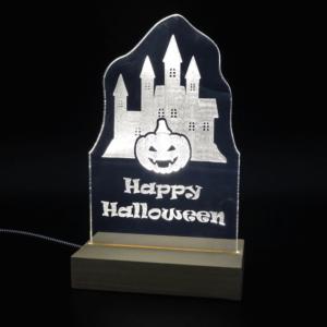Halloween bei GBM-Factory - Deko Leuchtschild 2