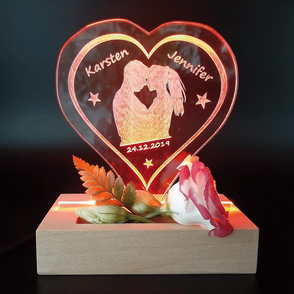 Liebe bei GBM-Factory - Deko Leuchtschild