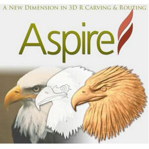 Aspire bietet eine leistungsstarke, aber intuitive Softwarelösung zum Erstellen und Fräsen von Teilen auf einer CNC-Fräse.