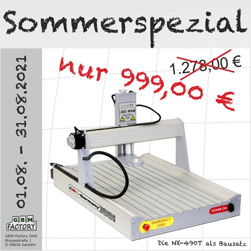 Sommerspezial 2021 - NX490T -